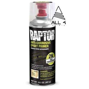RAPTOR apprêt époxy anti-rouille en aérosol