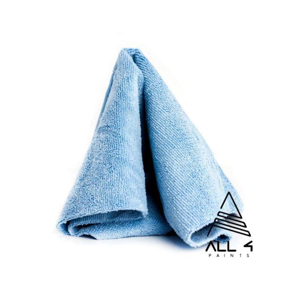 Serviette microfibre 40×40 cm bleu
