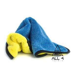 Microfibre de séchage jaune et bleu 40×40
